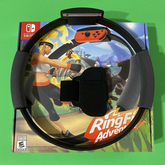Nintendo Switch Ring Fit Adventure(BOX and ACCESSORIES ONLY NO GAME) Fast Ship
