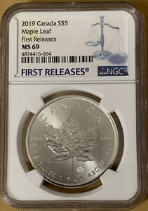 2019-5-CANADA-1-OZ-SILVER-INCUSE-DESIGN-MAPLE-LEAF-NGC-MS69-FIRST-RELEASE-BLUE