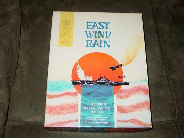 3W  Task Force Games - EAST WIND RAIN - War in Pacific - 1941-45 (UNPUNCHED)