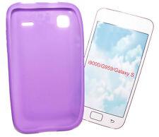Silikon TPU Cover Case Handy Hülle Schale in Lila  für Samsung i9000 Galaxy S