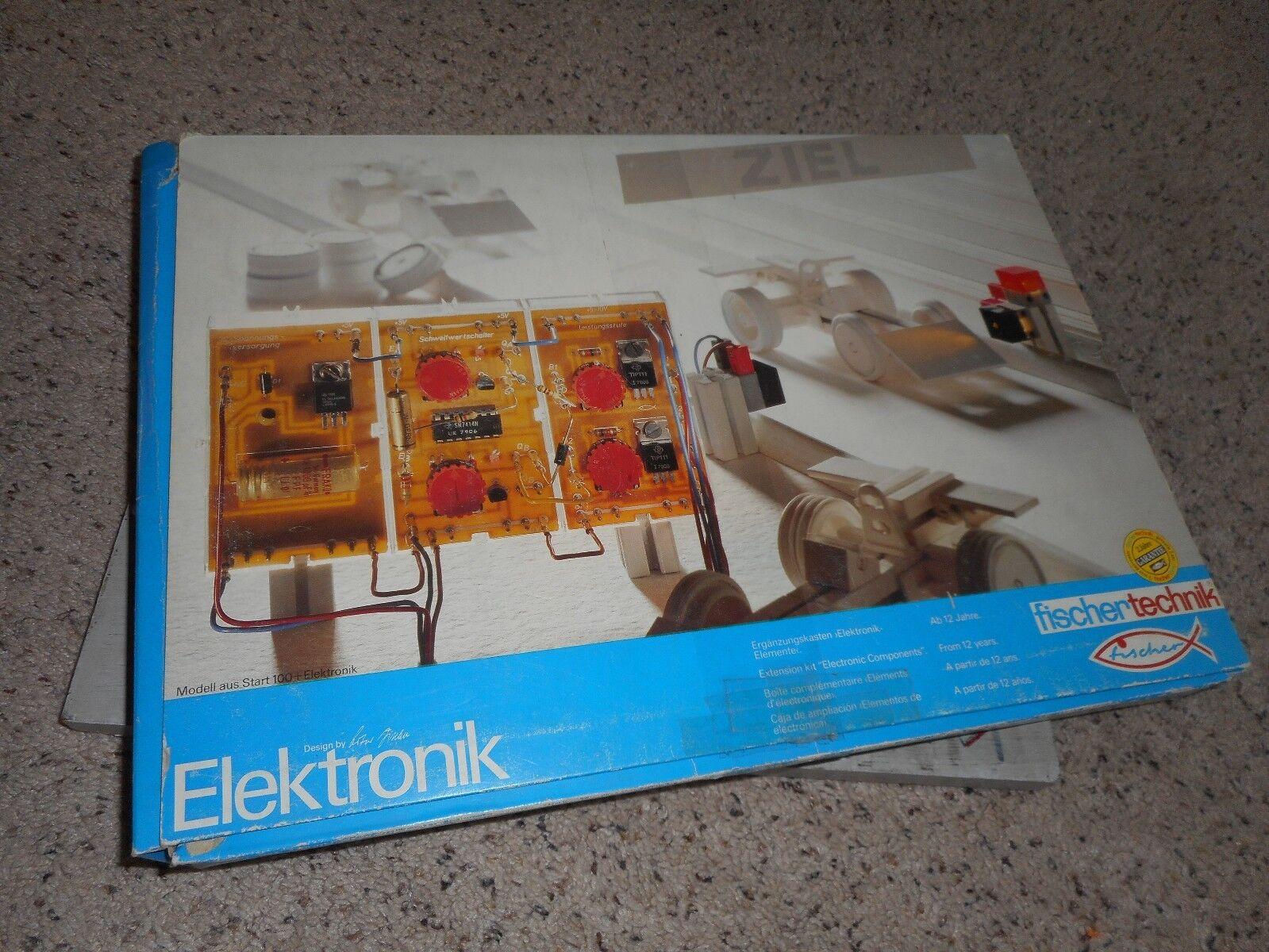 FischerTechnik 30253 Elektronik extension kit electrical components