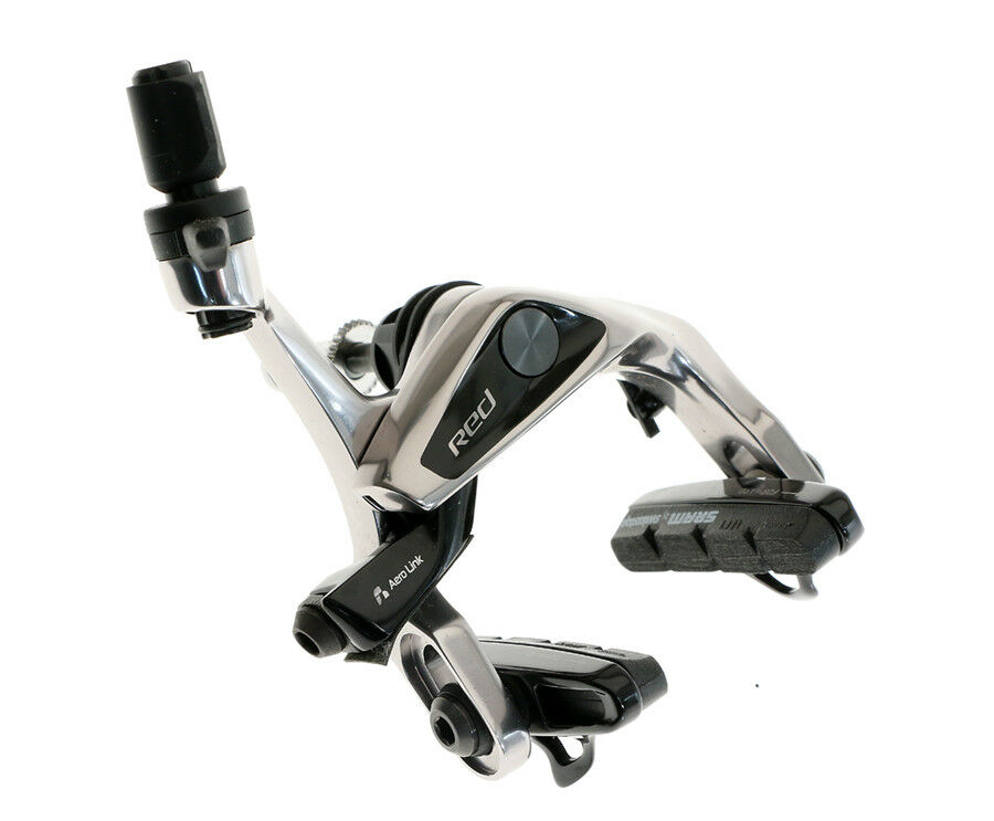 SRAM rosso Front Brake Brake Brake Caliper Aero Link Front Only w  SwissStop Pads Road NEW bc511e