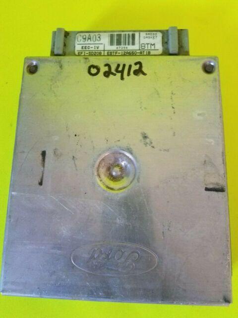 Plug&Play1988-91 Ford Truck E8TF-12A650-AT1B 5.8L MT F150 F250 ECM PCM WARRANTY