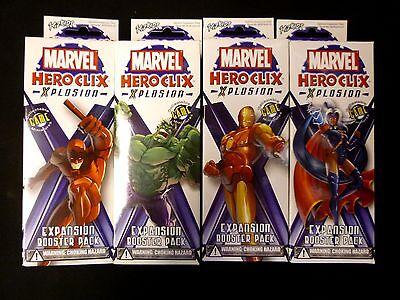 2003 Xplosion HeroClix Marvel Comics Miniature Figures Set Single Game Pieces