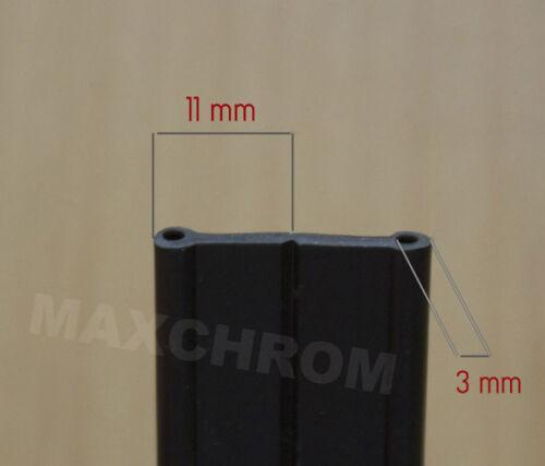 Außenkantenschutz 3X11mm 10 m Doppelt Kantenschutz 3mm //Kederband