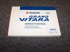 1999 Suzuki Grand Vitara SUV Owner Owner's Guide Manual JA JX JLX XSport 2.7L V6