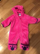97845e89a Columbia Baby Tiny Bear II Bunting Bright Plum 3-6 Months