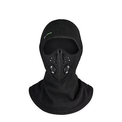 RockBros Winter Windproof Cycling Outdoor Sporting Anti-haze Mask Cap Black