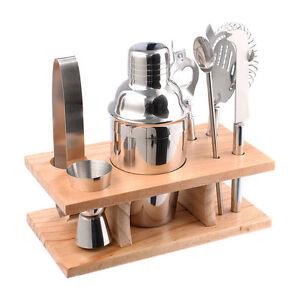 Stainless-Steel-Cocktail-Shaker-Mixer-Drink-Bartender-Martini-Tools-Bar-Set-Kit