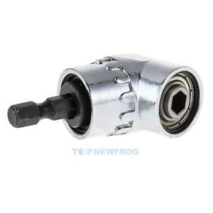 Winkelschrauber-Vorsatz-Adapter-150-Grad-1-4-034-Schnellwechsel-und-Bithalter