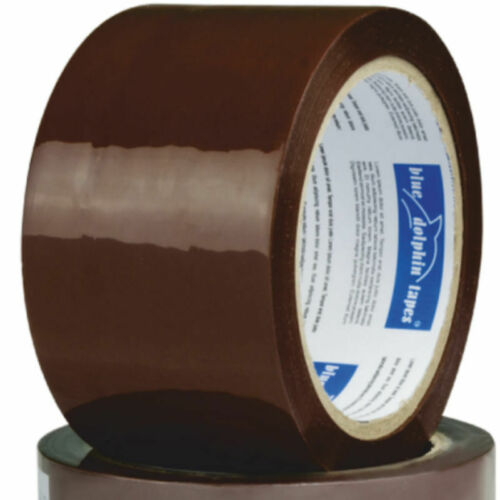 Stabiles Packband 60mm x 25m starker Kleber Kartonagen Abdeckpappe  Folien