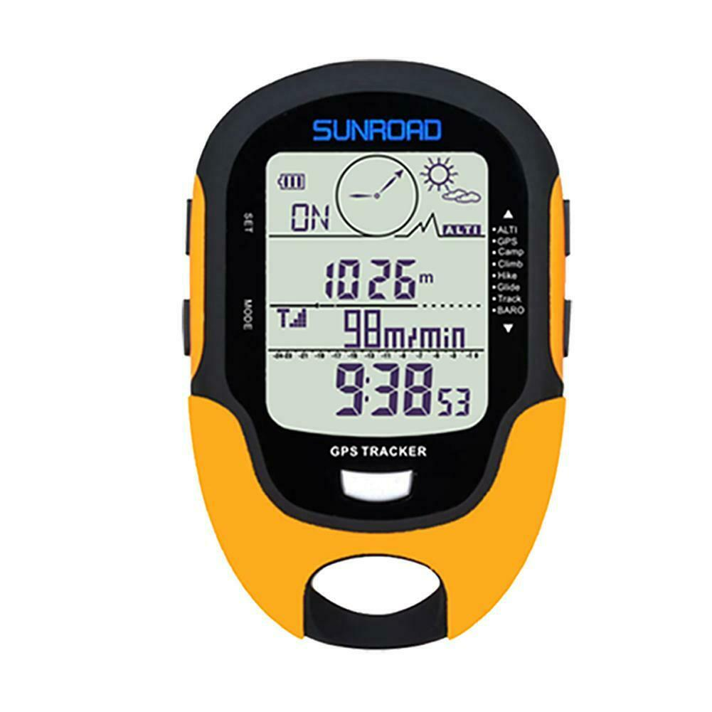 SUNROAD Waterproof FR510 Barometer Compass Outdoor Climbing Altimeter Tools NIGH