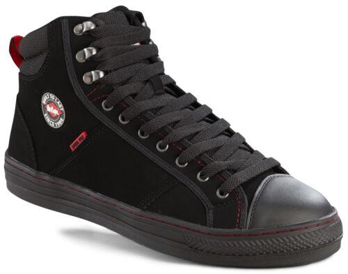da Lc022 Stivali scarpe acciaio nero Safety inox nero baseball Cooper in Lee 4Aq1AxUw7