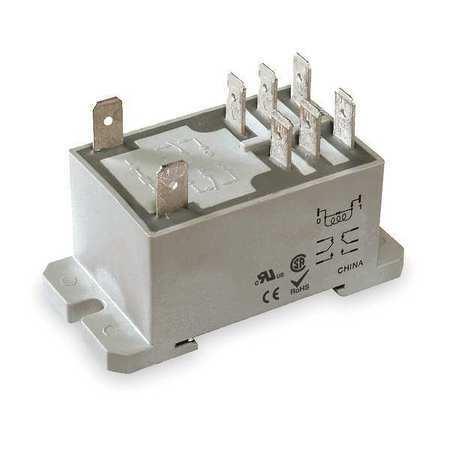 Dayton 1Ejh3 Enclosed Power Relay,8 Pin,24Vdc,Dpdt