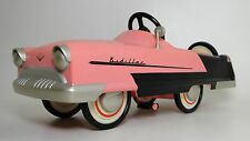 Pedal Car Cadillac 1950s Two Tone Sport Vintage Classic Midget Metal Model Race