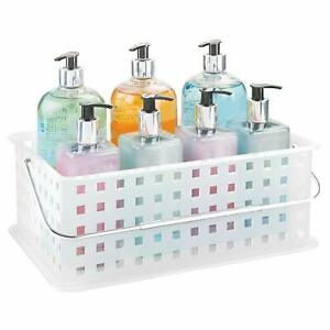 Bath Carrier Basket Stackable Toys Cleaning Supplies Office Laundry Caddy New 696723881769 Ebay