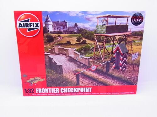 LOT 81522AIRFIX A06383 Frontier Checkpoint D-Day 1:32 Bausatz NEU in OVP