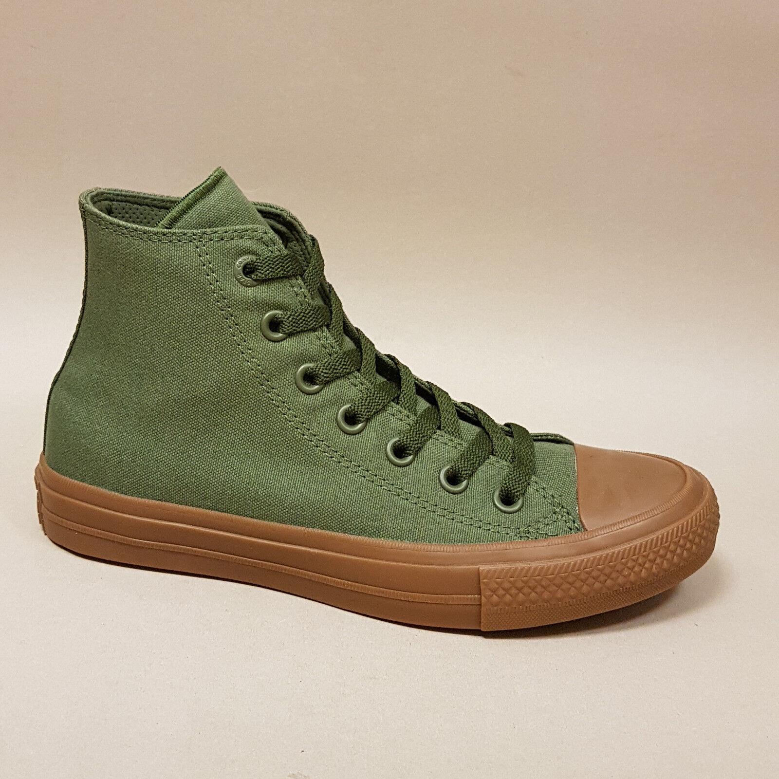 Converse All Star Chuck Tayler II Hi Herbal Gum 155498C Turnschuhe Turnschuhe grün