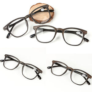 87af7c2f2e0 Men s Women s Classic Clear Lens Full Frame Magnetic Reading Glasses ...