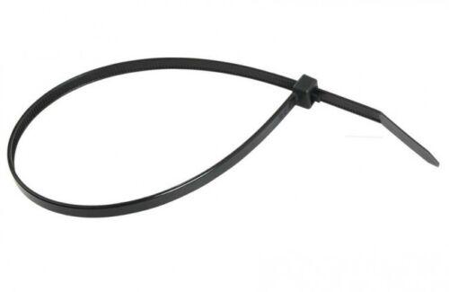 "6.3/"" - 15/"" 500-2000 Reusable Cable Zip Ties Releasable Nylon Black Wire Wrap"