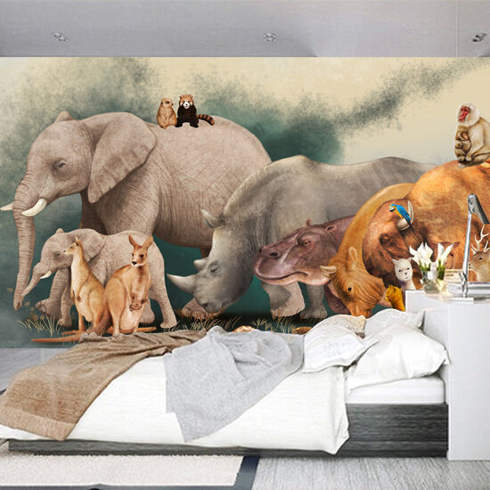 3D Animal paintings 548 WallPaper Murals Wall Print Decal Wall Deco AJ WALLPAPER