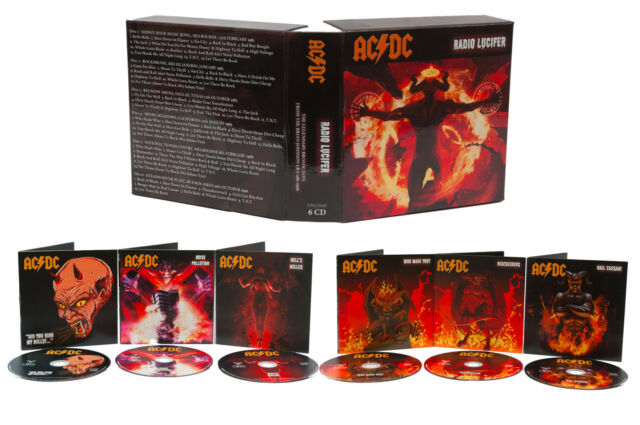 AC/DC - RADIO LUCIFER - THE LEGENDARY BROADCASTS, 1981-'96 - 6 CD BOX SET