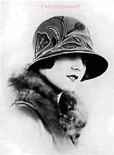 Flapper Milliner Millinery hat making patterns manual