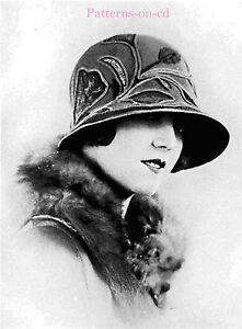 Flapper-Milliner-Millinery-hat-making-patterns-manual