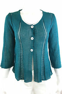 RARE-GORGEOUS-NKOC-CARDIGAN-SWEATER-SZ-L