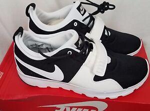 wholesale dealer c99c8 f06ee Image is loading Nike-Trainerendor-SB-ACG-black-white-tennis-shoes-