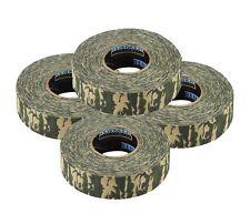 """4 Renfrew Camouflage Hockey Stick Tape - 1""""x27 yds"""