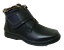MEN-Black-Winter-Ankle-Snow-Boots-Comfort-Strap-Slip-On-Loafer-Fur-Lined-Boots thumbnail 2