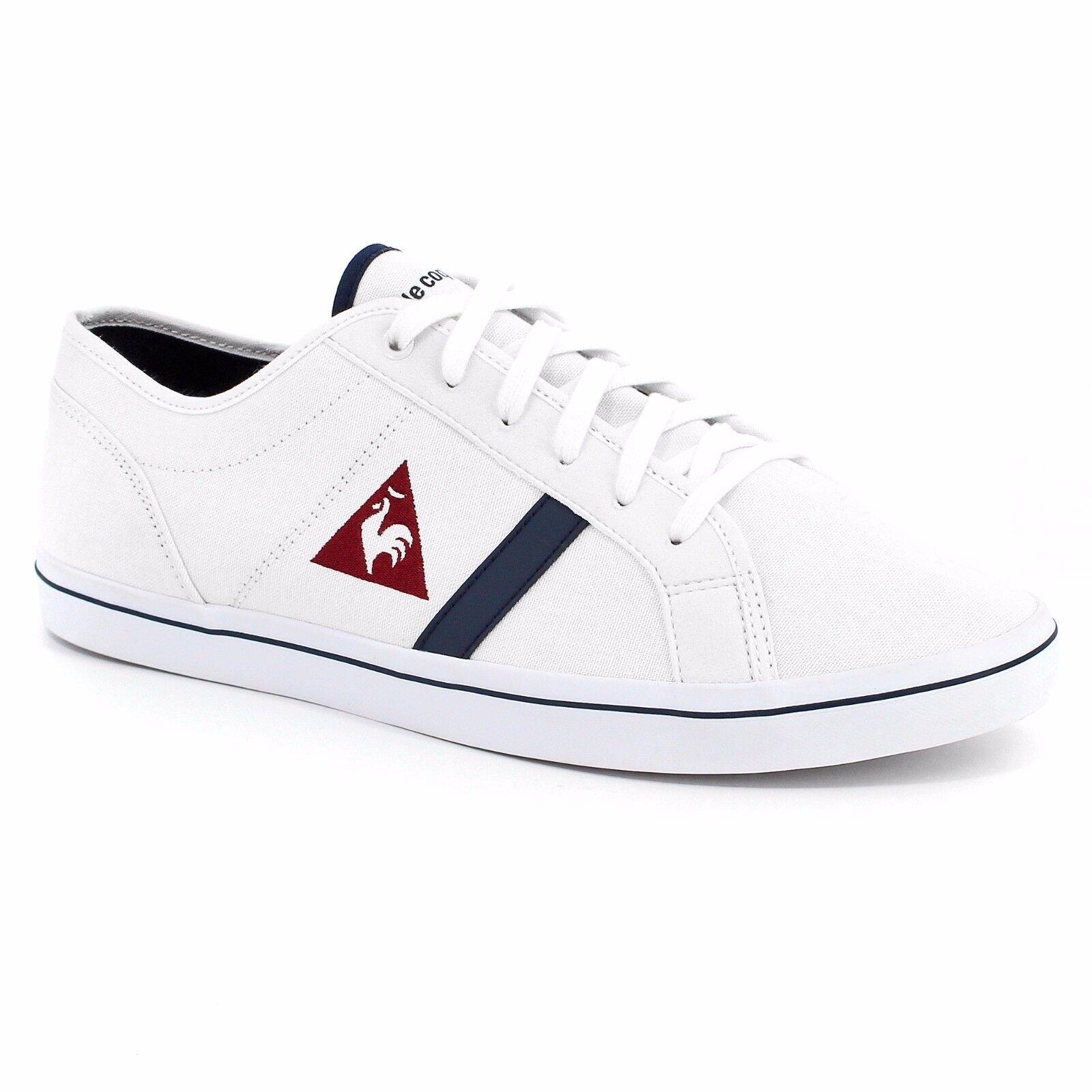Scarpe casual da uomo SCARPE LE COQ SPORTIF ACEONE CVS sneakers bianco in tela 1620152