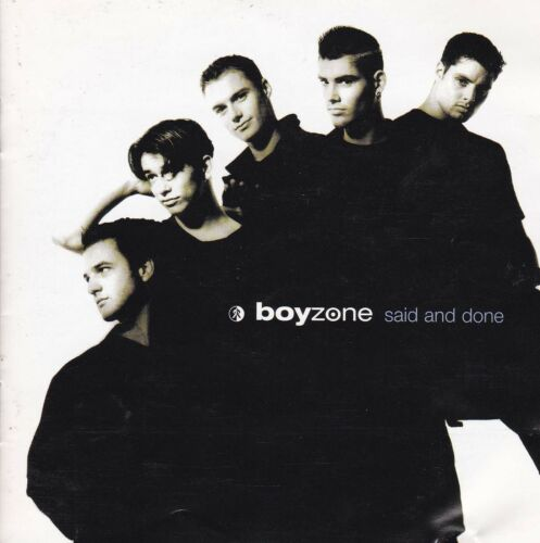1 of 1 - BOYZONE Said And Done CD