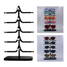 5 Pairs Sunglasses Rack Eyeglasses Glasses Display Stand Counter Show Racks