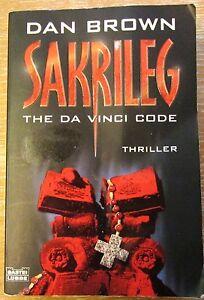 Sakrileg von Dan Brown The Da Vinci Code Buch gebraucht 2006 - Stein, Deutschland - Sakrileg von Dan Brown The Da Vinci Code Buch gebraucht 2006 - Stein, Deutschland