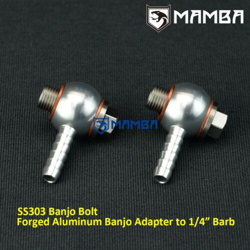 Precision Turbo PW39 PW46 PW66 External Wastegate Banjo Air Fitting Kit Aluminum