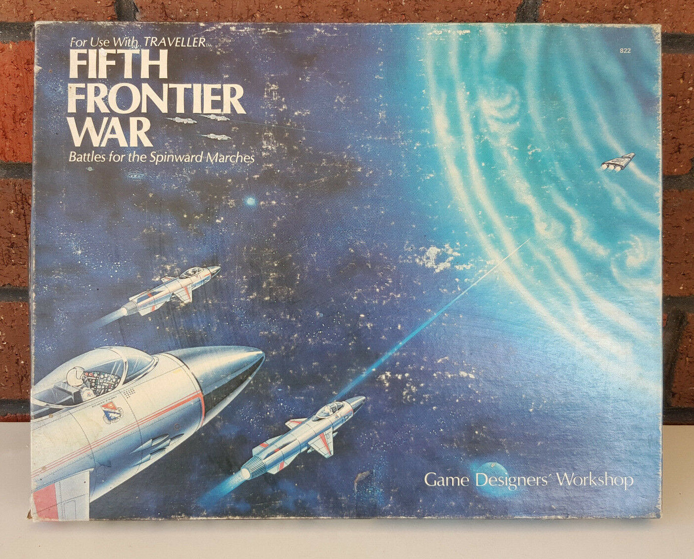 Fifth Frontier War Battles for Spinward Marches - GDW Traveller Boardgame 1981