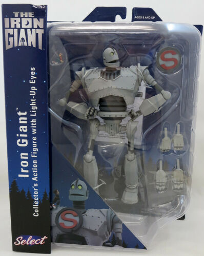 Selezionare MOVIE 9 pollici Action Figure Iron Giant-Gigante di Ferro