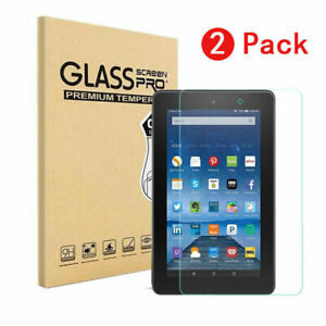 2-Pack-Tempered-Glass-Screen-Protector-For-Amazon-fire-7-034-HD-8-034-HD-10-034-Tablet