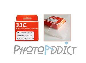 JJC-LA-A500-Protection-ecran-LCD-type-SONY-A500-A550-remplace-PCK-LH6AM