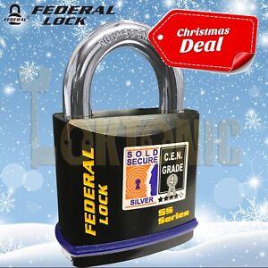 Federal-FD730-Sold-Secure-Silver-CEN-4-Super-Heavy-Duty-Solid-Steel-Padlock