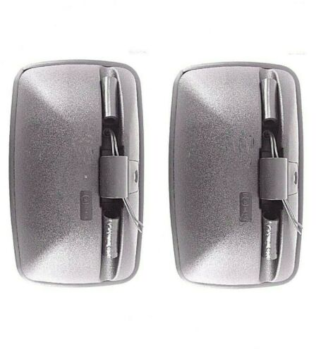 2x Außenspiegel Rückspiegel 330x200 ø18-24 Beheizt Bagger Mercedes Bus Volvo LKW