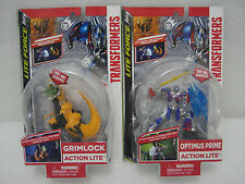 Transformers Lite Force Attach and Go OPTIMUS PRIME and GRIMLOCK Action Lite Set