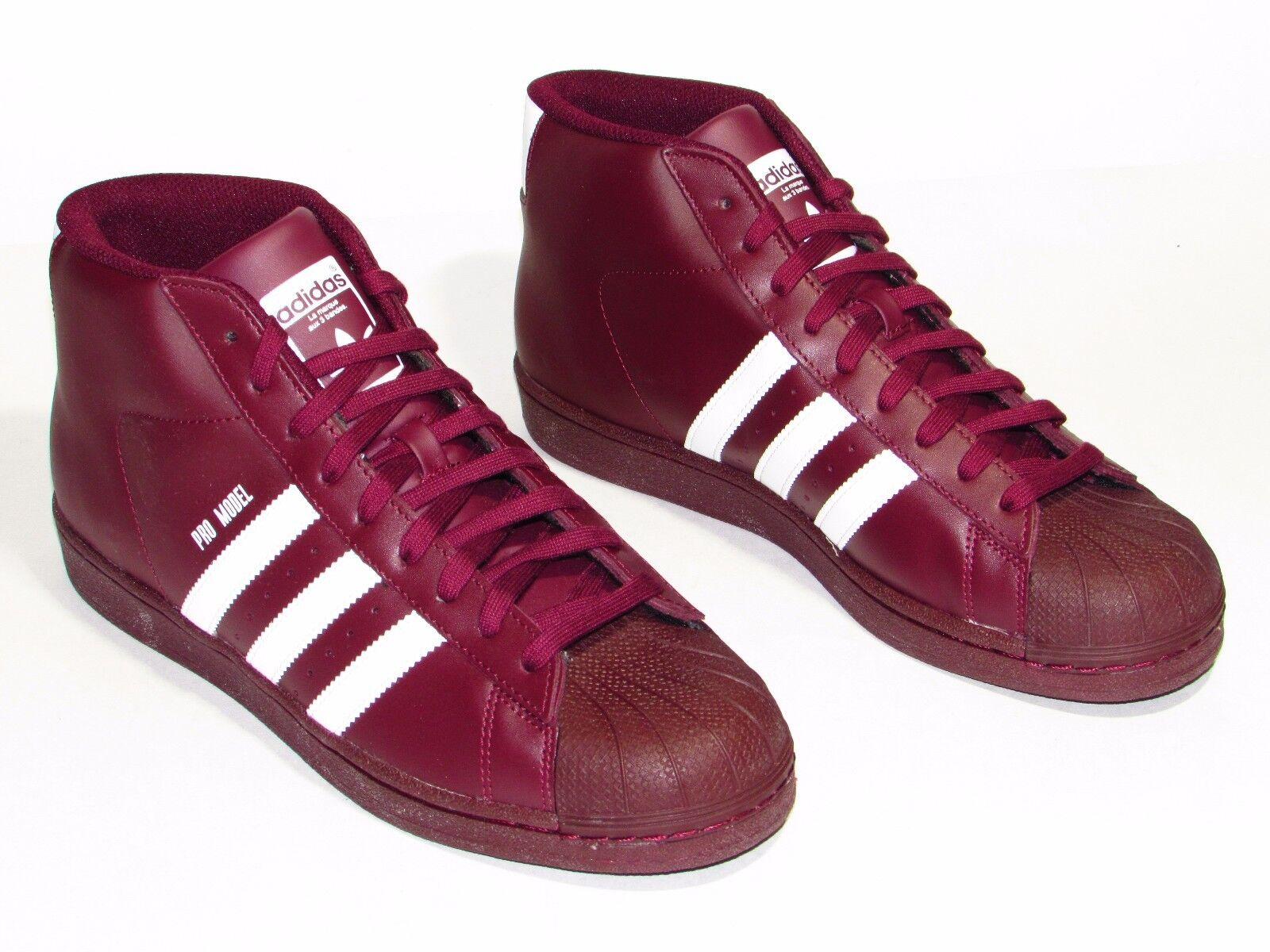 Adidas Pro Model Mens Casual Shoes Maroon B39370 Comfortable