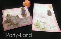 Invitaciones De Bautizo Spanish Christening Baptism Invitations Party Favor