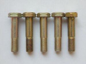 X100  quality 2BA steel hex head bolts 28D//7014//7C live steam aircraft engineer