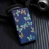 Para Samsung Galaxy A70 A50 A40 A20E A10 Fundas con tapa de cuero pintadas con tapa