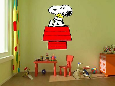 36 or 52 24 Snoopy Charlie brown Woodstock 3D Window View Decal Graphic WALL STICKER Art Mural 18