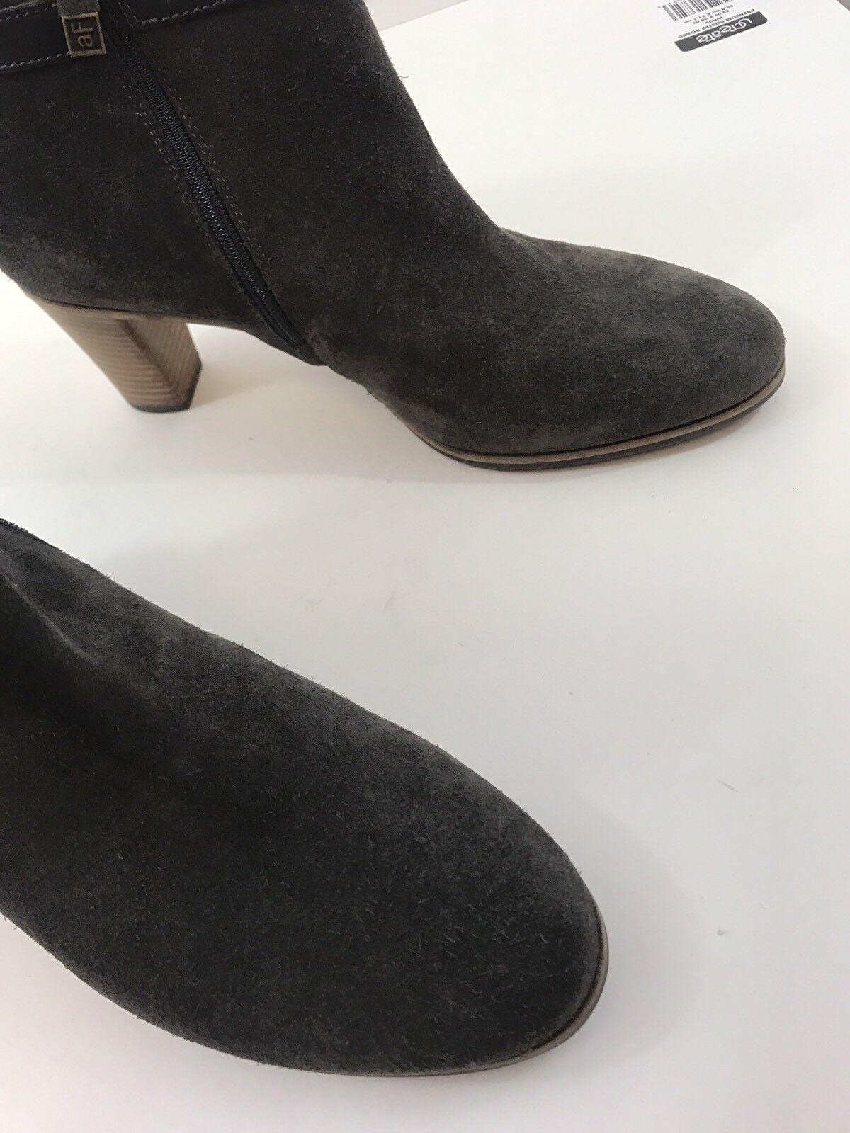 ALBERTO FERMANI  SERRA SUDE Donna SIZE EU #2 40 Grey ANKLE BOOTS zipper #2 EU 4360a9